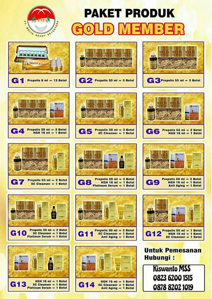 Pilihan Harga Produk Bergabung Untuk Gold Member